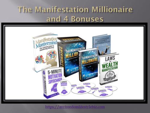 Bonus package manifestation Millionaire