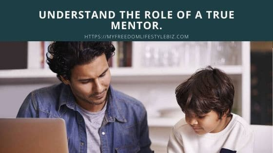 The truth about mentors. Anyone can be a mentor