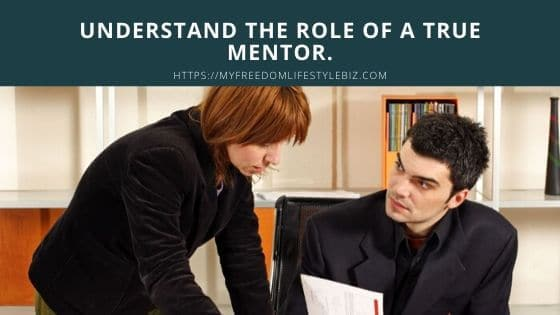 The truth about woman and mentors