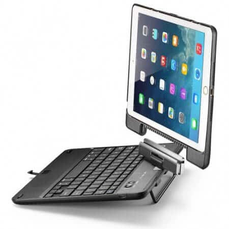 iPad Air Keyboard Case, New Trent Airbender Star with Detachable Wireless Bluetooth Smart Keyboard for Apple iPad