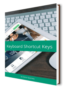E-Book Keyboard Shortcut Keylist