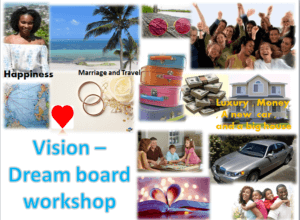 vision dream board workshop here in singapore on 9th of october