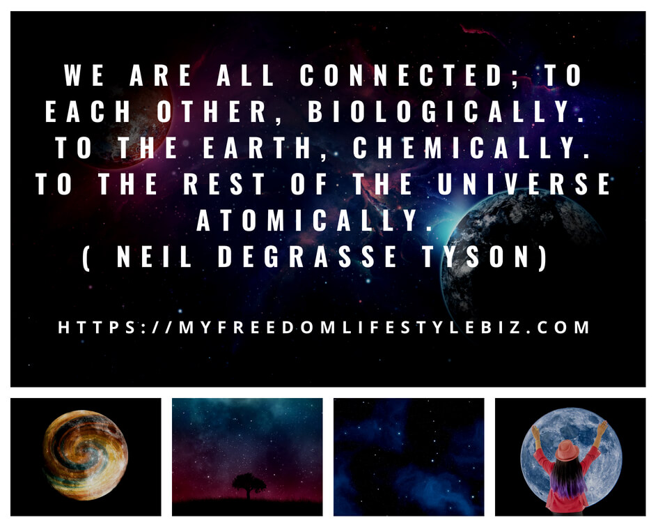 we are all connected to each other