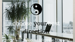 The best direction in Feng Shui