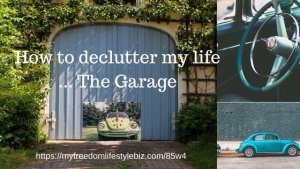 Clean your mess in your garage