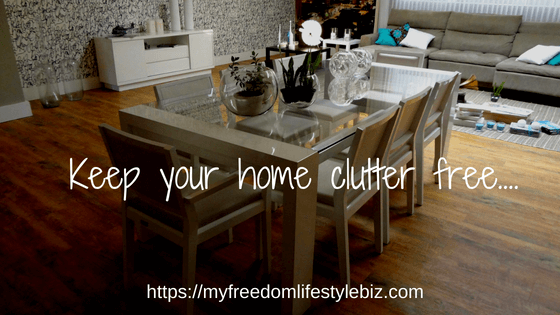 Keep your home clutter free