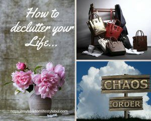 how to declutter your life