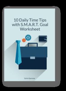 smart goal worksheet be more efficient
