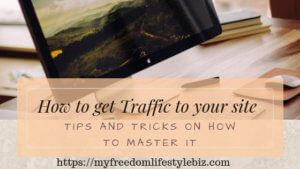 What can you do to get more Website traffic