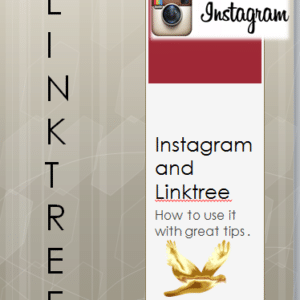 Linktree and Instagram how to ..