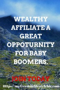 Baby Boomers and Wealthy Affiliate