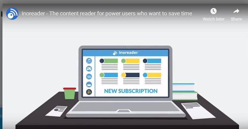 Innoreader RSS software reader
