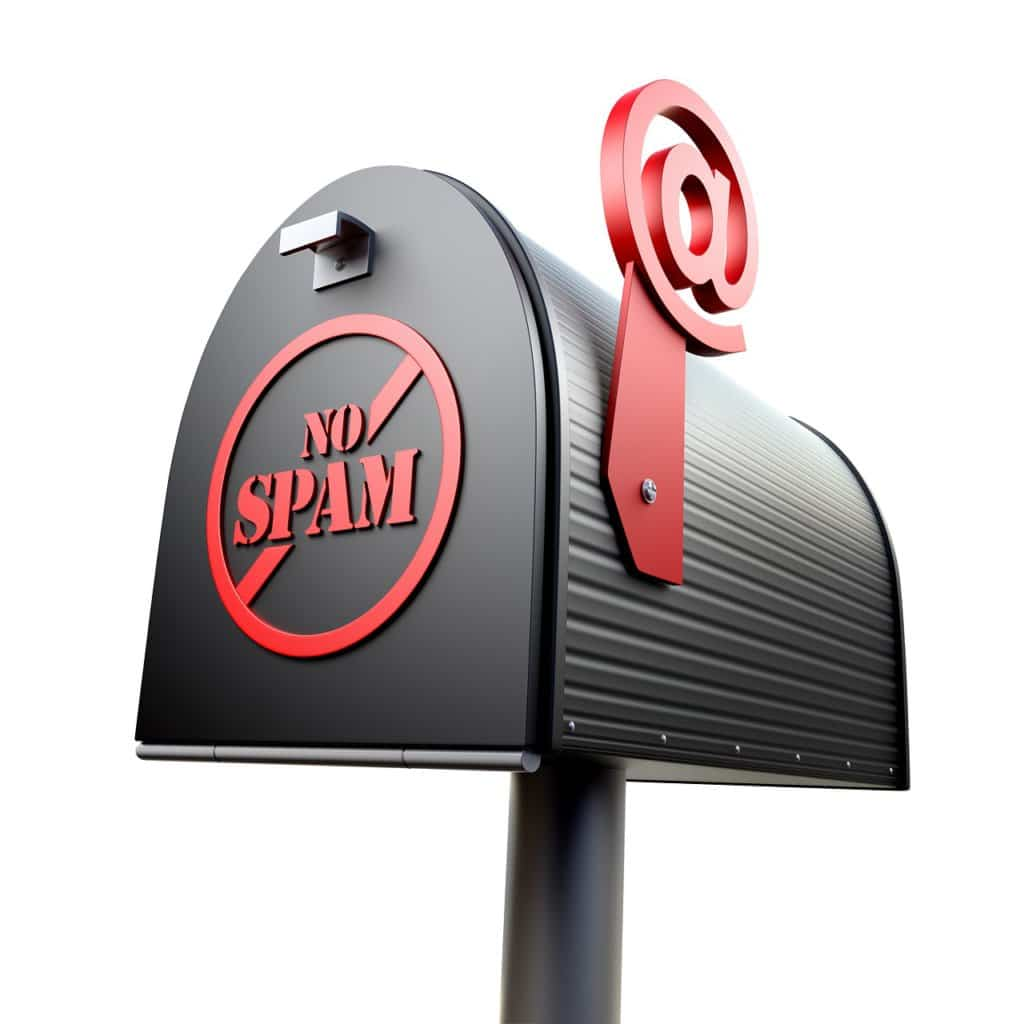 Spam in email marketing