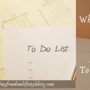 what is the secret to a successful to do list