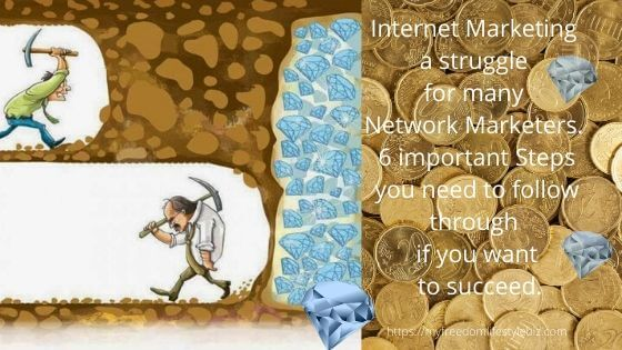 obstacles a network marketer has to overcome