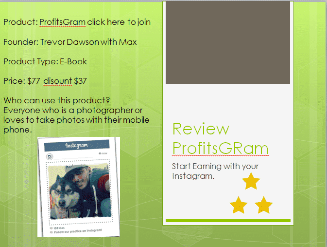 Profit Gram E-Book Review