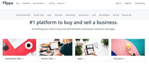 Flippa buy and sell your business