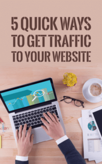 5quick ways to increase your website traffic