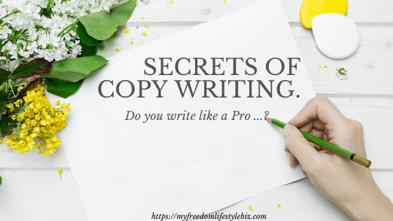 secrets of copy writing
