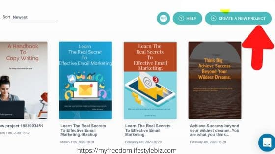 start creating an ebook with designrr